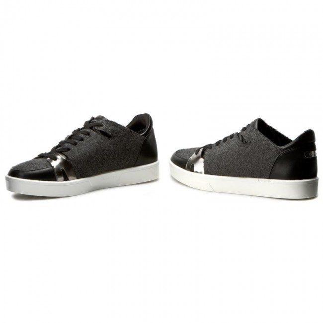 Sneakers CALVIN KLEIN BLACK LABEL - Imanna E2620 Charcoal/Anthracite