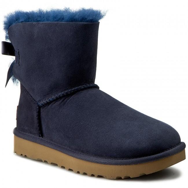 II WNavy W Bailey boots High UGG Shoes 1016501 Bow UGG Mini XPwCq70