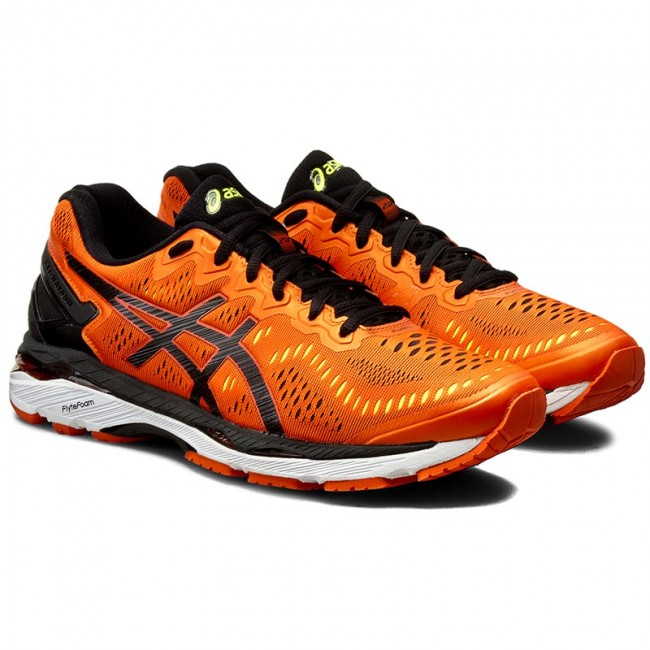 Shoes ASICS - Gel- Kayano 23 T646N Flame Orange/Black/Safety Yellow 0990