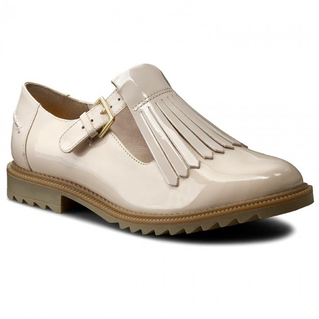 Oxfords CLARKS  Griffin Mia 261156444 Nude Pink  Oxfords  Low shoes  Womens shoes       0000199023279