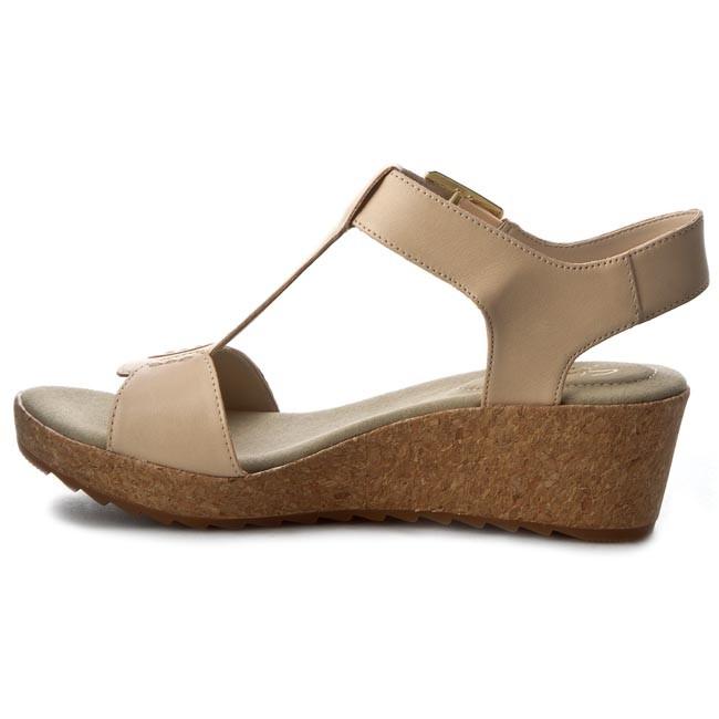 749715bae0f Sandals CLARKS - Kamara Kiki 261229044 Nude Leather - Casual sandals -  Sandals - Mules and sandals - Women s shoes - www.efootwear.eu