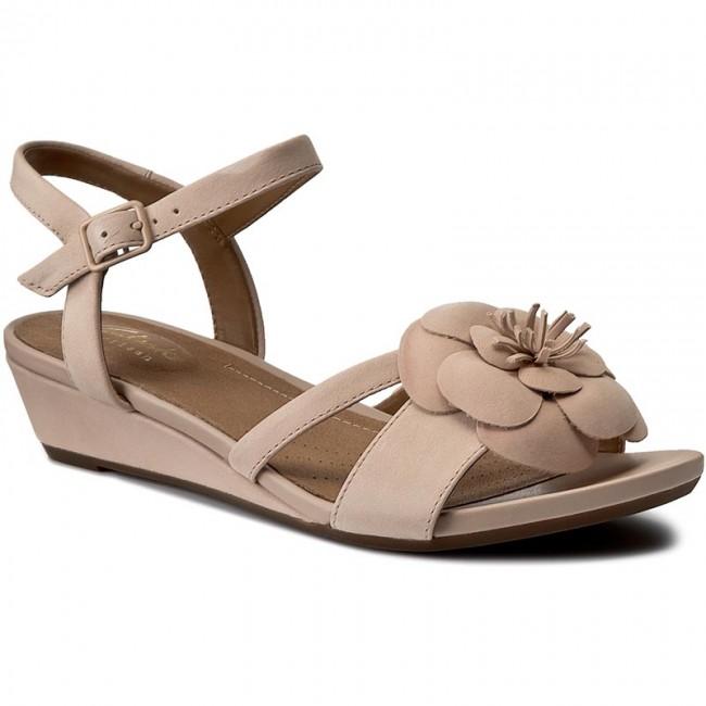 6e2292fcad3 Sandals CLARKS - Parram Stella 261230354 Dusty Pink - Casual sandals ...