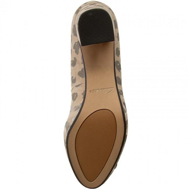 a45218b58577 Shoes CLARKS - Kelda Gem 261235584 Leopard Print - Heels - Low shoes -  Women s shoes - www.efootwear.eu