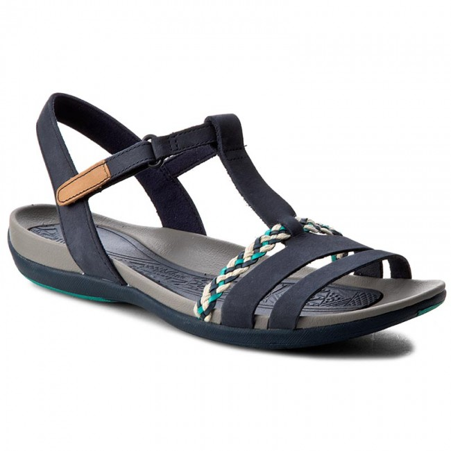 9b69153a05b Sandals CLARKS - Tealite Grace 261238944 Navy - Casual sandals ...