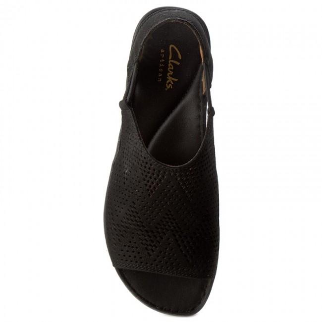 Sandals CLARKS - Sarla Cadence 261240884 Black Nubuck - Casual sandals -  Sandals - Mules and sandals - Women s shoes - www.efootwear.eu 03a6f414307