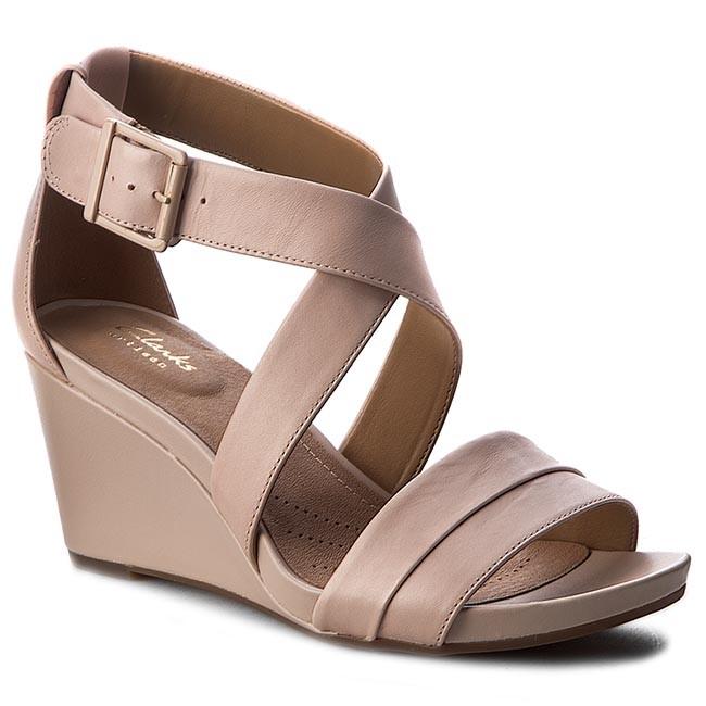 f2901ce328a Sandals CLARKS - Acina Newport 261242994 Dusty Pink - Casual sandals ...