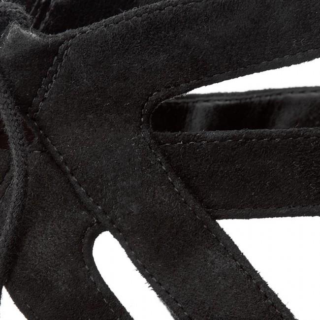 2e5b4904ab0 Sandals CLARKS - Mayra Ellie 261244324 Black Sde - Casual sandals ...