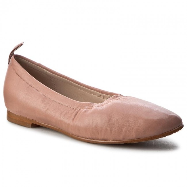 9bd48a830c9 Flats CLARKS - Grace Mia 261245414 Dusty Pink Lea - Ballerina shoes ...