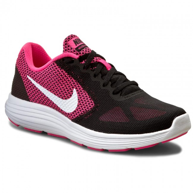 be09a5b95ef2 Shoes NIKE - Revolution 3 819303 600 Hyper Pink White Black - Indoor ...