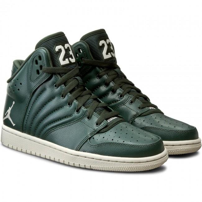 cheap for discount 42016 4f8ad Shoes NIKE - Jordan 1 Flight 4 820135 300 Grove Green/Light Bone