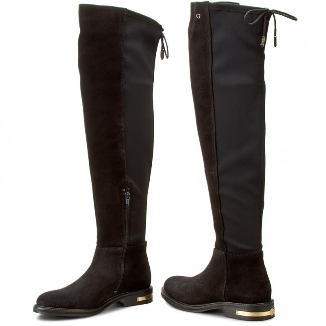 fa0b68195d7 Over-Knee Boots GUESS - Celeste FLCEL4 SUE11 Black - Musketeer ...