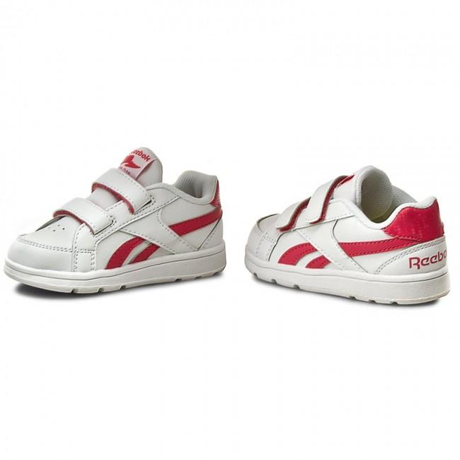 9172dba7f69 Shoes Reebok - Royal Prime Alt V70004 White Fearless Pink - Velcro ...