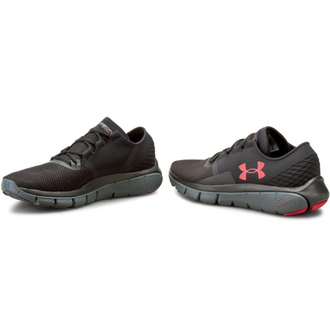 Shoes UNDER ARMOUR - Ua Speedform Fortis 2 Txtr 1284470-001 Blk ...