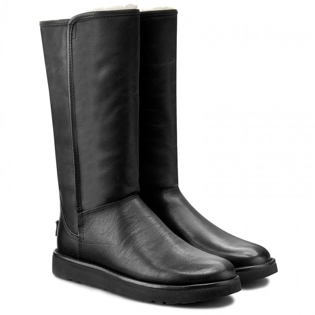 32e0c1f2681 Knee High Boots UGG - W Abree II Leather 1016587 W/Nero