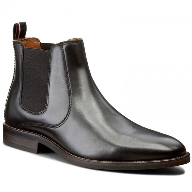 e1627a0358b879 Ankle Boots TOMMY HILFIGER - Dallen 13A FM56822111 Black 990 ...
