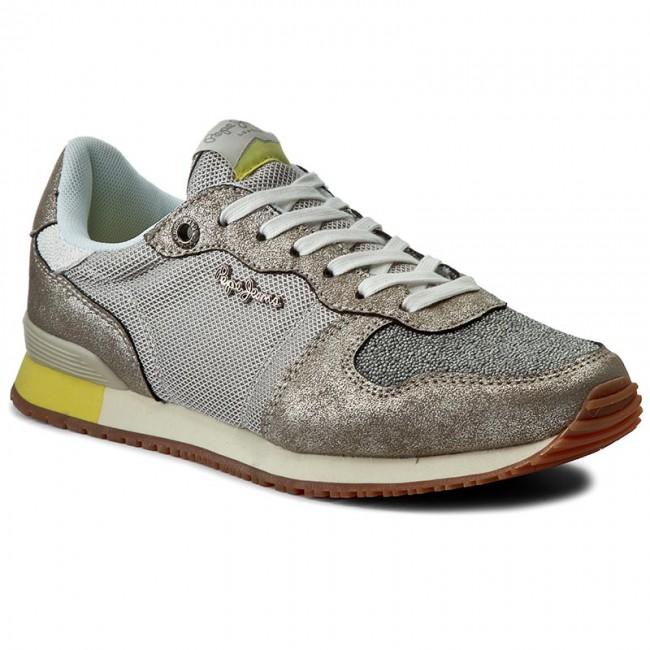 Jeans Pepe Pls30276 Sneakers Silver 934 Caviar Gabile Lq3jR54A