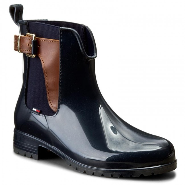 0bc0a5c1 Wellingtons TOMMY HILFIGER. Oxley 2Z2 FW56822108 Midnight/Winter Cognac 403