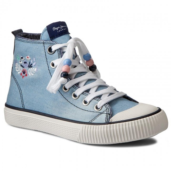 Embroidery Jeans Pgs30272 Lt 32 Sneakers Industry Pepe Thames PkiuZX