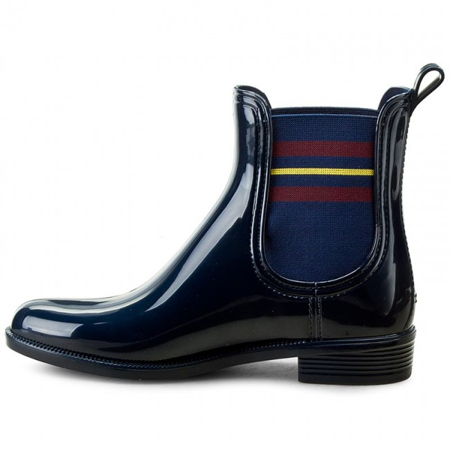 6e9800f635e30 Wellingtons TOMMY HILFIGER - Odette 7R FW0FW00519 Tommy Navy 406 -  Wellingtons - High boots and others - Women's shoes - www.efootwear.eu