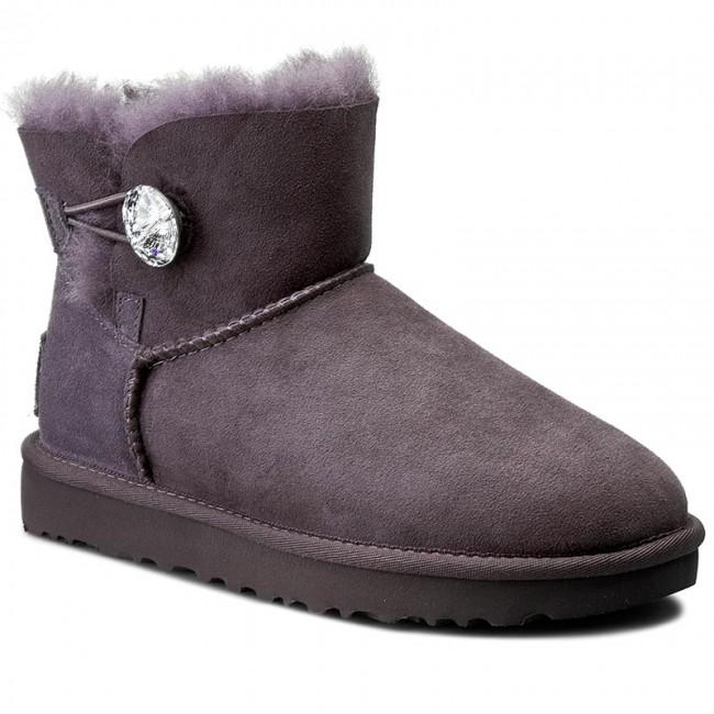 Shoes UGG - W Mini Bailey Button Bling 1016554 W/Nht