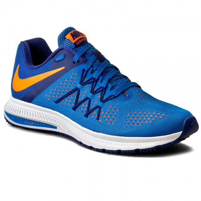 new style 866aa f571c ... Shoes NIKE - Zoom Winflo 3 831561 402 Fountain Blue Total Orange ...