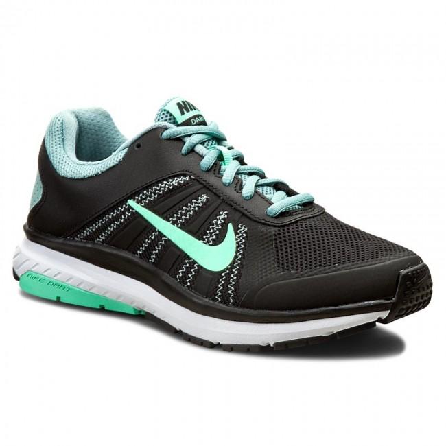 Nike Dart 12 Womens Black/Green Glow/Cannon/White J501024GM Shoes