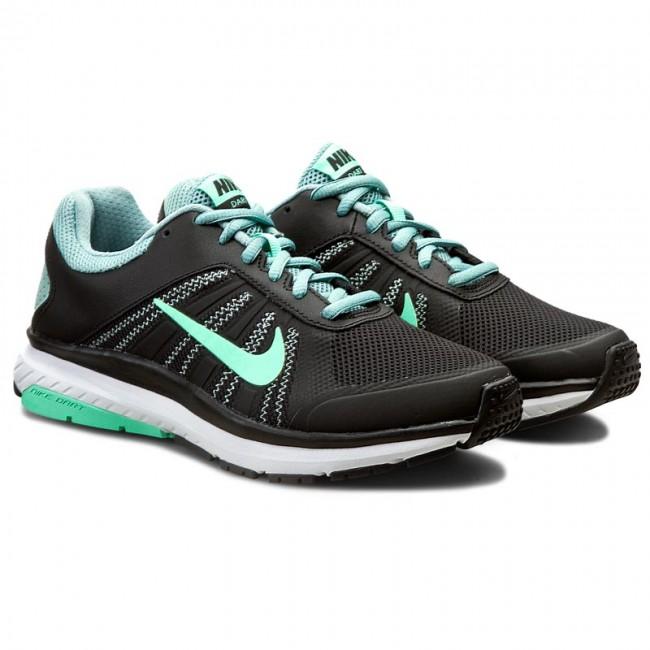 Shoes NIKE - Dart 12 831535 005 Black/Green Glow/Cannon