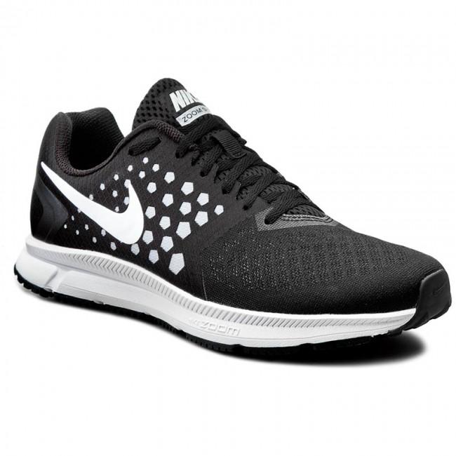 Nike Zoom Span [852437-002] Running Black/White-Wolf Grey