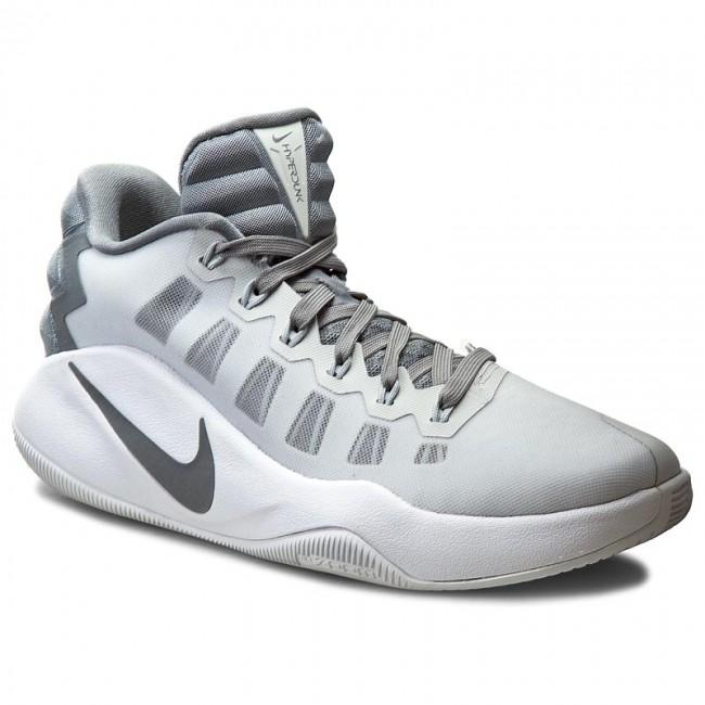 Nike Hyperdunk 2016 Low Men's Basketball Shoe Pure Platinum/White/Cool Grey