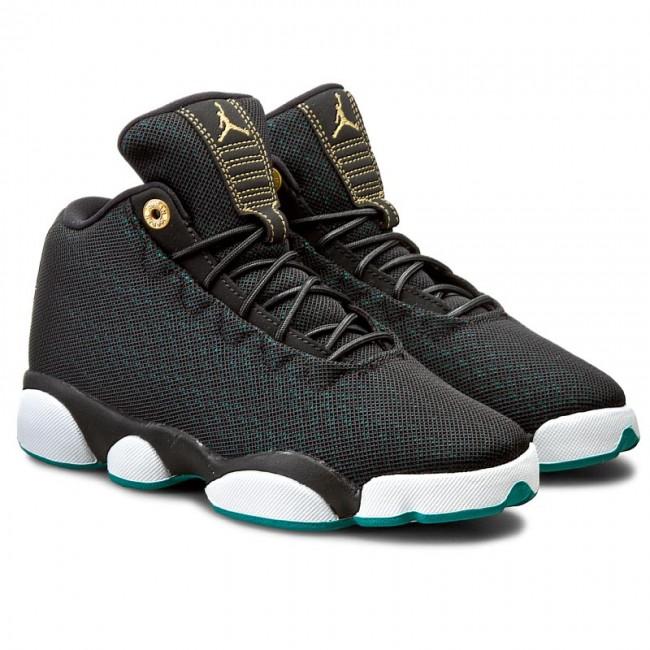 73cbd894cdf8d2 ... best price shoes nike jordan horizon low gg 846365 019 black metallic  gold rio teal sneakers