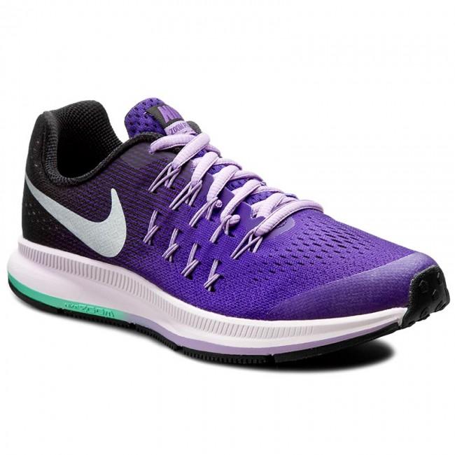 34716771266 Shoes NIKE - Zoom Pegasus 33 (Gs) 834317 500 Dark Iris Metallic ...