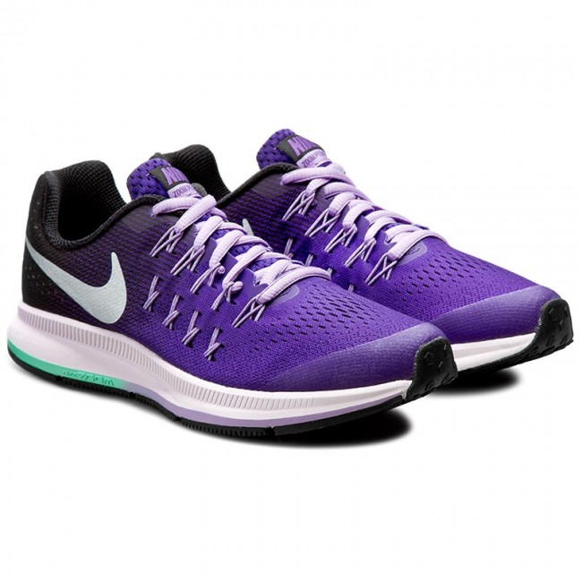 low priced 076a3 bb326 Shoes NIKE - Zoom Pegasus 33 (Gs) 834317 500 Dark Iris Metallic Silver Blac  - Indoor - Running shoes - Sports shoes - Women s shoes - www.efootwear.eu