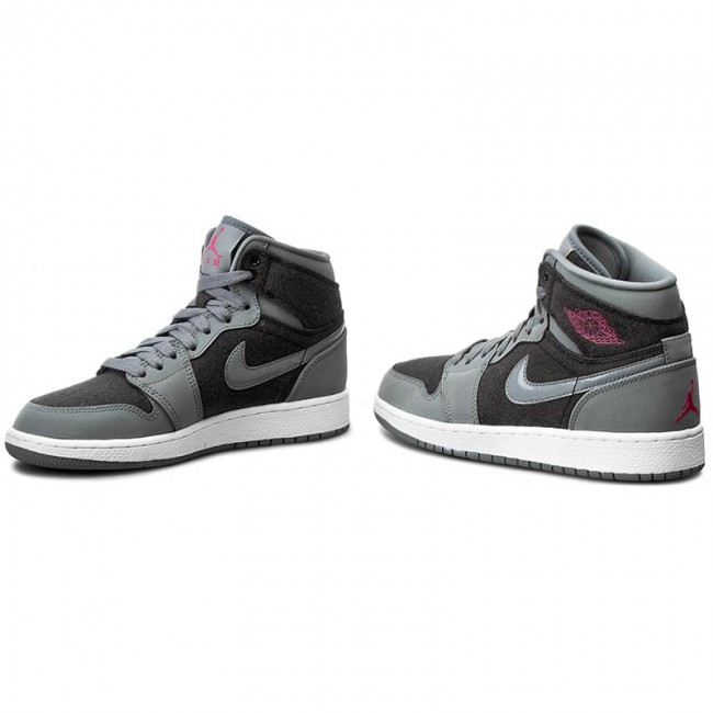 d5dabbb5a9e4 Shoes NIKE - Air Jordan 1 Retro High Gg 332148 002 Cool Grey Vivid Pink