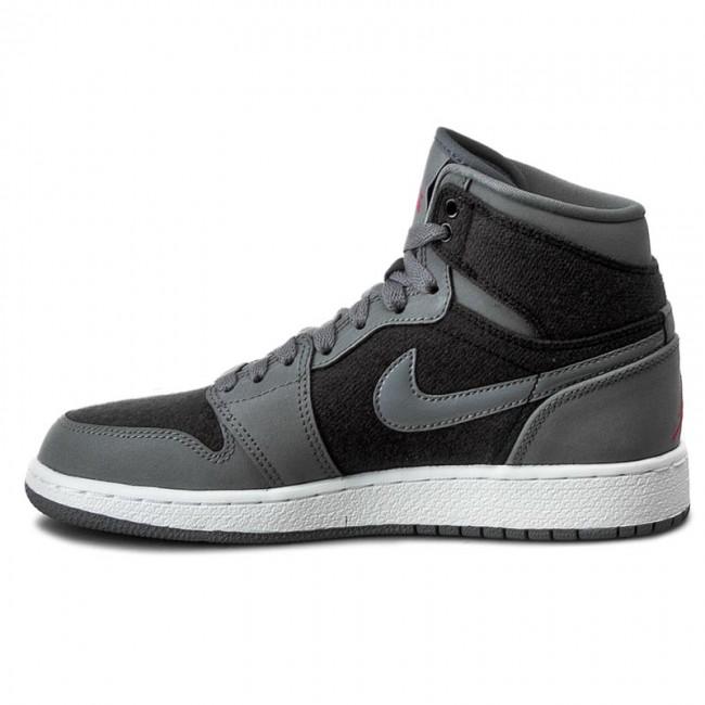 Nike Air Jordan 1 Retro High GG Girl/'s Shoes Cool Grey//Vivid Pink 332148-002