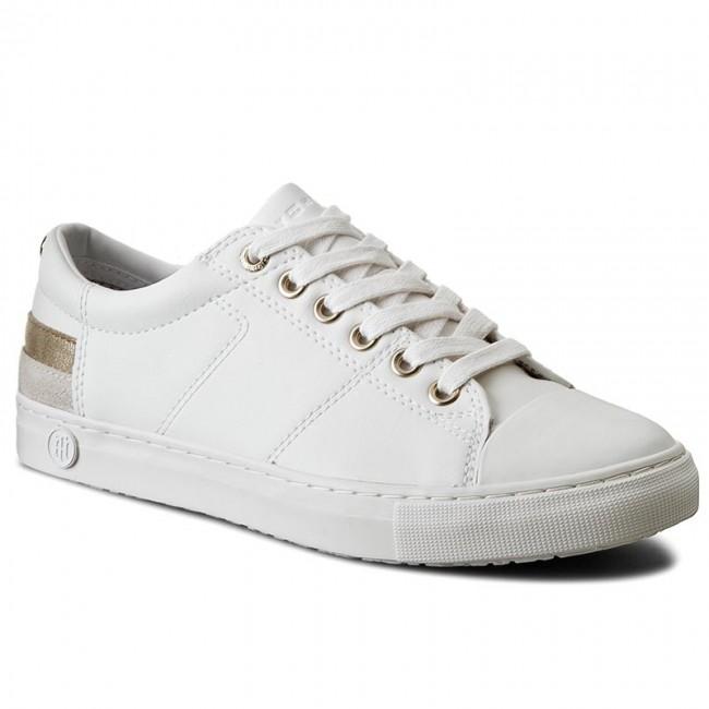 f795ba179 Sneakers TOMMY HILFIGER - Jeanne 1A FW0FW00798 White 100 - Sneakers ...