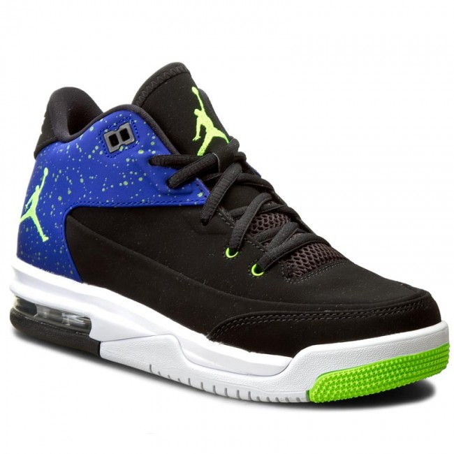 wholesale dealer e69be de483 Shoes NIKE - Jordan Flight Origin 3 BG 820246 002 Black Electric  Green Concord