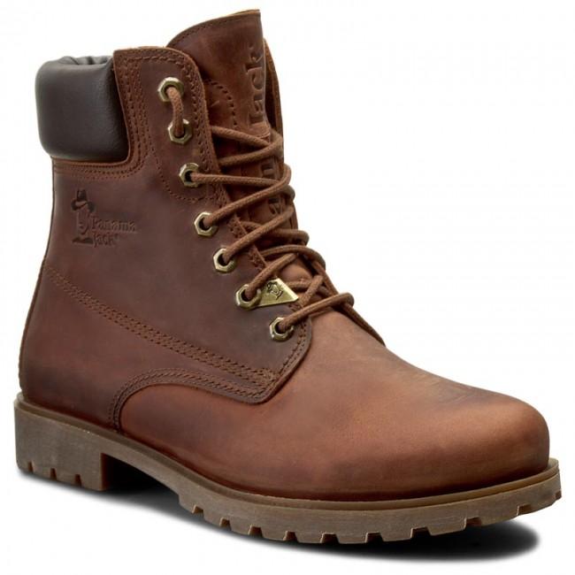 403b8cd64cd7c4 Hiking Boots PANAMA JACK - Panama 03 C8 Cuero Bark - Trekker boots ...