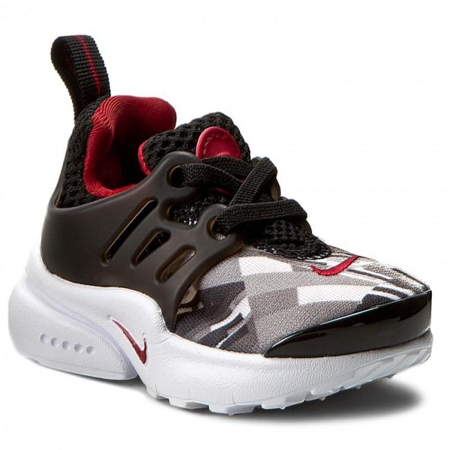 0ac43e52bd8d Shoes NIKE - Presto Print (TD) 859598 001 Black Gym Red Wolf Grey ...