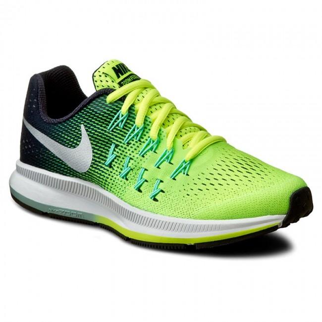 hot sale online 7ad2d 837b3 Shoes NIKE - Zoom Pegasus 33 (Gs) 834316 701 Volt Metallic Silver ...