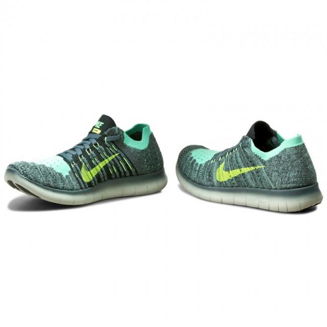 Nike Free Rn Flyknit Ghost Green