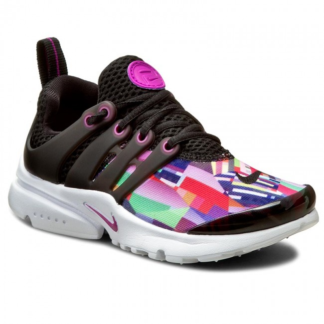 reputable site ee8a4 a2e98 Shoes NIKE - Presto Print (Ps) 859600 001 Black Hyper Violet - Laced ...