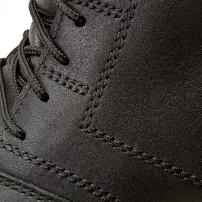 f9a93986904e Knee High Boots CLARKS - Rockie Co Gtx 203184627 Black Waterproof ...