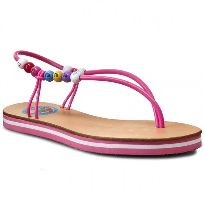 86f51565f61 Slides LOVE MOSCHINO - JA16192G13IG0604 Fuxia - Flip-flops - Mules ...