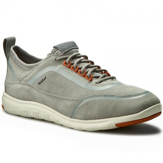 Mens U Xunday 2fit B Fashion Sneaker, Beige Geox