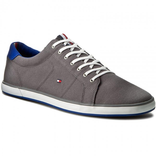 Tommy Hilfiger HARLOW - Trainers - steel grey QYcRIGXeyL