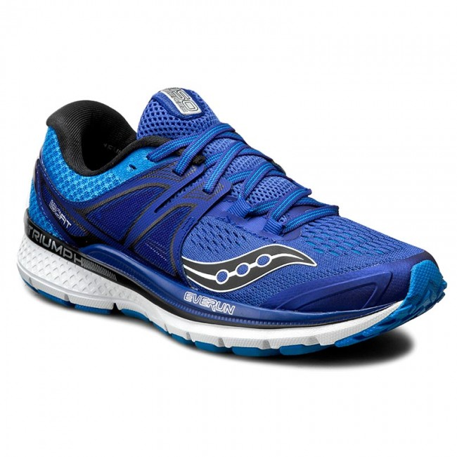 shoes saucony - triumph iso 3 s20346-1 blu/sil - indoor - running