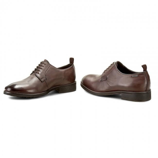Shoes PEPE JEANS - Hackney Derby PMS10166 Brown 878 - Formal shoes ... 5dc9c2145788