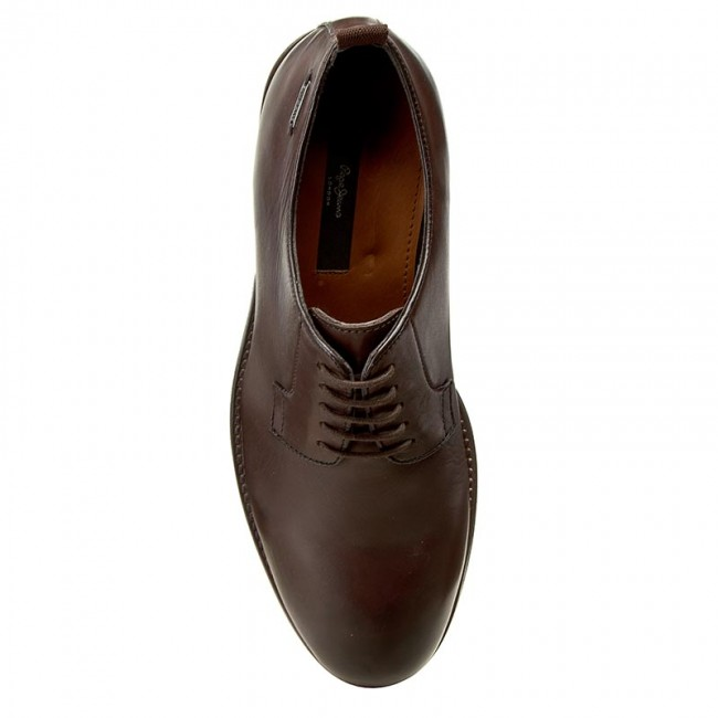 Shoes PEPE JEANS - Hackney Derby PMS10166 Brown 878 - Formal shoes - Low  shoes - Men s shoes - www.efootwear.eu 28deefd62cd5