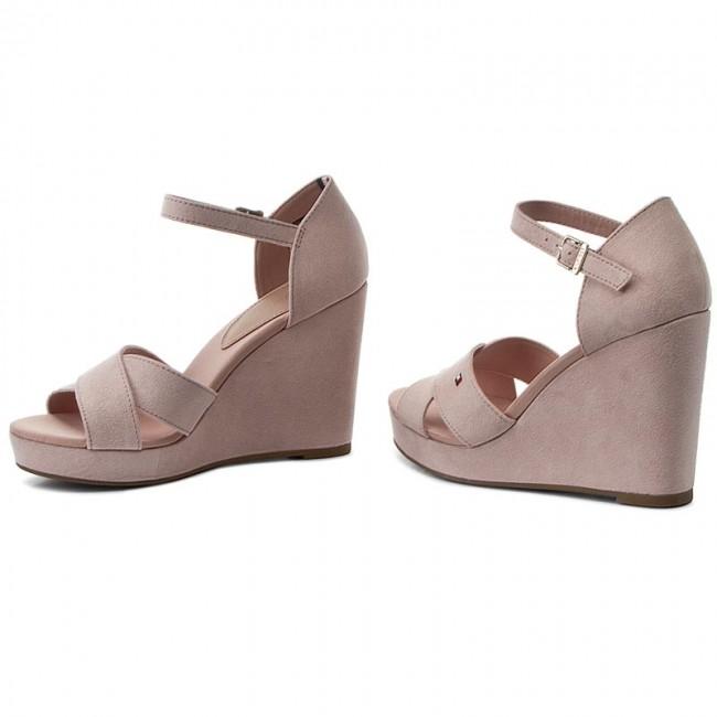 53c7694d6f34 Sandals TOMMY HILFIGER - Elena 45D FW0FW00279 Dusty Rose 502 ...