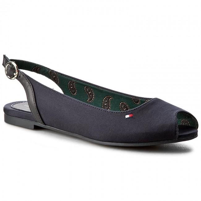 8fd42e3fa8778 Sandals TOMMY HILFIGER - Amy 78D FW0FW00289 Midnight 403 - Casual ...